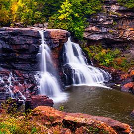 Vishwanath Bhat - Blackwater Falls in Blackwater Falls State Park WV USA