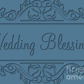 JH Designs - Blessed Engraved Love Deco