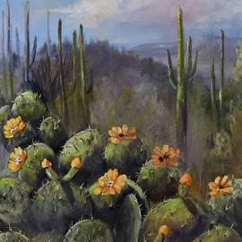 Jan Holman - Blooming Cactus