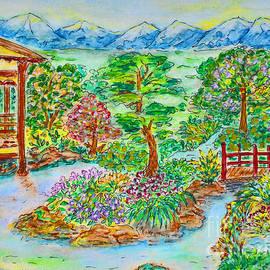 Olga Hamilton - Blooming Garden