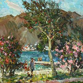 Juliya Zhukova - Blooming pomegranate