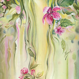 Anna Ewa Miarczynska - Blossoming Spring - Crab apple