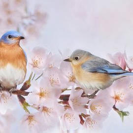 Lori Deiter - Blossoms and Bluebirds