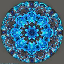 Brenda Spittle - Blue and Brown Mandala