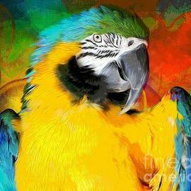 Tina LeCour - Blue And Gold Macaw