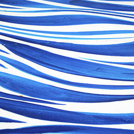 Sandy Taylor - Blue and White No. 1