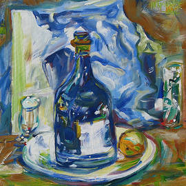 Joseph Matose - Blue and White Still Life