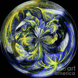 Brenda Spittle - Blue and Yellow Orb