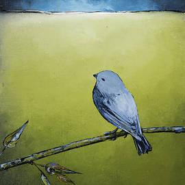 Carolyn Doe - Blue Bird in Green