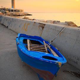Milan Gonda - Blue Boat