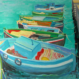 Blue Boats - William Ireland