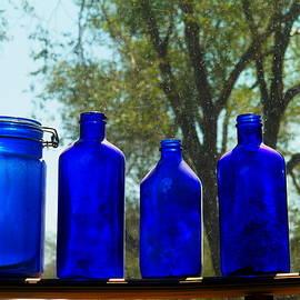 Jeff  Swan - Blue bottles
