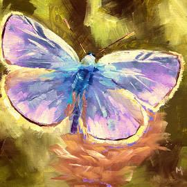 Melissa Herrin - Blue Butterfly
