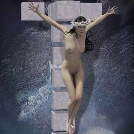 Quim Abella - Crucified on the cross Hypercube