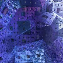 Issabild - - Blue Cubes