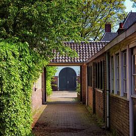 Jukka Heinovirta - Blue Door At The End Of A Corridor