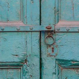 Blue Door of Cortona