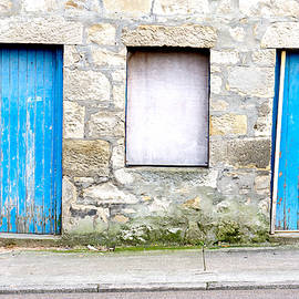 Blue doors - Tom Gowanlock