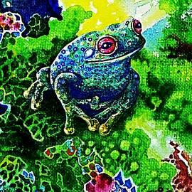 Hartmut Jager - Blue  Frog