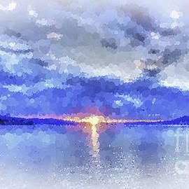 Geoff Childs - Blue Glow Sunrise
