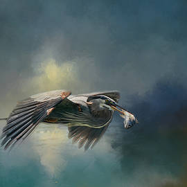 Jai Johnson - Blue Herons Catch of the Day