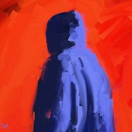 Bill Tomsa - Blue Hoodie