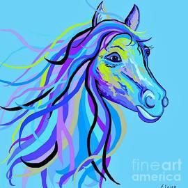 Eloise Schneider - Blue Horse