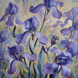 Elena Oleniuc - Blue irises