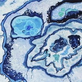 Ellen Levinson - Blue Lace Agate I