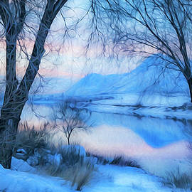 Theresa Tahara - Blue Landscape