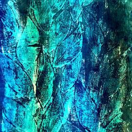 Dimitra Papageorgiou - Blue Leaves 2