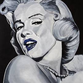 Blue Marilyn  - Brian Broadway