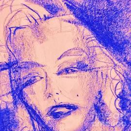 Tatjana Krilova - Blue Marilyn