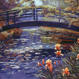 David Lloyd Glover - Blue Monet