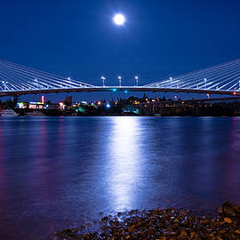 Patrick Campbell - Blue Moon Over Tilikum Crossing