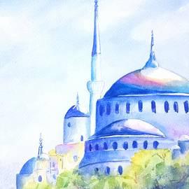 Carlin Blahnik - Blue Mosque Istanbul Turkey