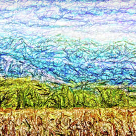 Joel Bruce Wallach - Blue Mountain Golden Field