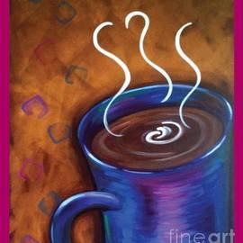 Danise Abbott - Blue Mug