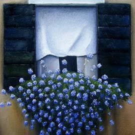 Gordon Matthews - Blue Plumbago