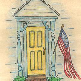Carol Neal - Blue Porch