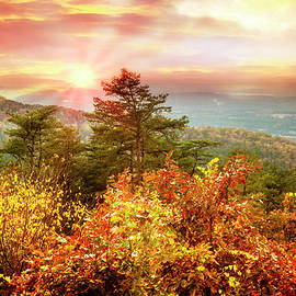 Debra and Dave Vanderlaan - Blue Ridge Mountains in Autumn