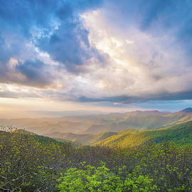 Robert Stephens - Blue Ridge Parkway NC Craggy Big Sky