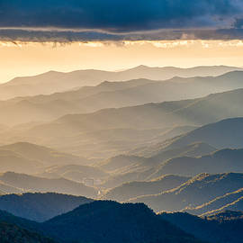Robert Stephens - Blue Ridge Parkway NC Rays and Ridges