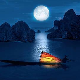 Sheela Ajith - Blue Serenity