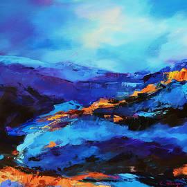 Elise Palmigiani - Blue shades