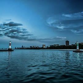 Sven Brogren - Blue skies on Chicago