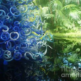 Georgia Sheron - Blue Spiral Reflections