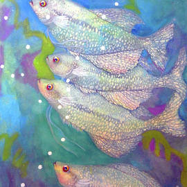 Sharon Nelson-Bianco - Blue Spotted Fish