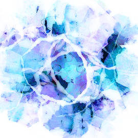 Ann Powell - Blue Tango - abstract art