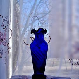 Rick Todaro - Blue Vase in a Window